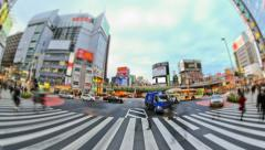 City Traffic Time Lapse Tokyo Stock Footage