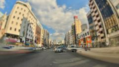 City Traffic Time Lapse Tokyo HDR Stock Footage