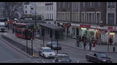 London Double Decker Bus - stock footage