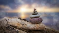 Zen Stones Stock Footage