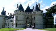 Stock Video Footage of Chateau de Chaumont (1) - Chaumont-sur-Loire France