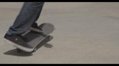 360 Kickflip 2 Stock Footage