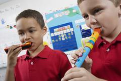 Elementary Opiskelijat musiikkiluokka Kuvituskuvat