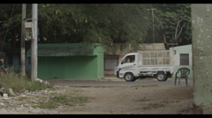 Truck on Tropic Road - stock footage