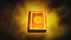 Book of Magic Stock Footage