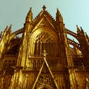 Stock Photo of retro looking koeln dom