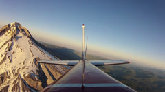 Flying Time Lapse Rear View - stock footage