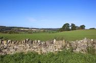 Stock Photo of dry stone wall