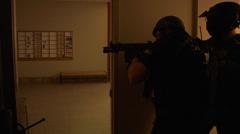 Swat Team - stock footage