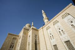 UAE Dubai The Jumeirah Mosque the only mosque which non-Muslims are permitted to Stock Photos