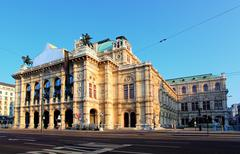 vienna state opera house (staatsoper), austria - stock photo