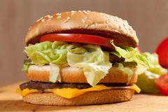 Hamburger. Stock Photos