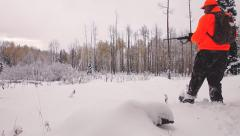 Hunter Snow - stock footage