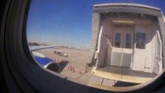 Jet Walkway Retracts 3725 Stock Footage