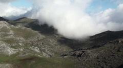 Stock Video Footage of Mountains, Asturias, Spain. Stationary.