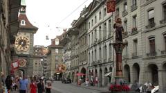 Bern, Berne, Switzerland Stock Footage