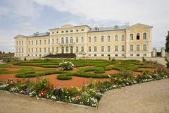 Stately Home In Latvia - stock photo