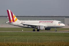 germanwings airbus a319 - stock photo