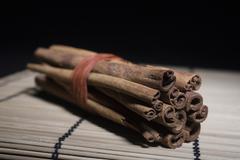 Bundle Of Cinnamon Sticks - stock photo