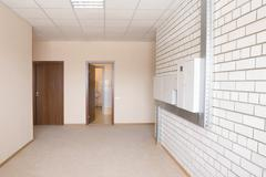 Fusebox In Wide Hallway Stock Photos