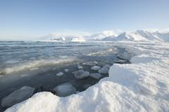 Stock Photo of Glacial landscape on on Moskensoy in the Loftofen archipelago Norway