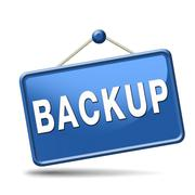 Backup icon or sign Stock Illustration