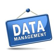 Data management Stock Illustration