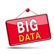Big data icon Stock Illustration