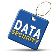 data security - stock illustration