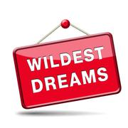 Stock Illustration of wildest dreams
