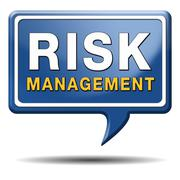 risk management - stock illustration