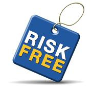 risk free - stock illustration