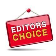 Editors choice Stock Illustration