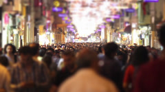 Crowd Timelapse Stock Footage