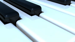 Piano Texture Stock Footage