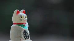 Japanese Lucky Cat 6 Stock Footage