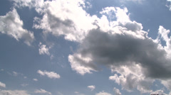 Breathtaking cloudy sky (2 of 2) Stock Footage