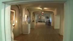 Inside the Stamford Museum Stock Footage