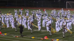Marching Band, Music Performance Stock Footage