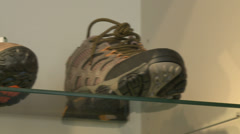 Inside sporting goods store (3 of 7) - stock footage