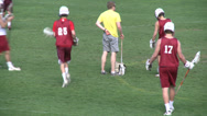 Stock Video Footage of High School boys' lacrosse practice (1 of 9)
