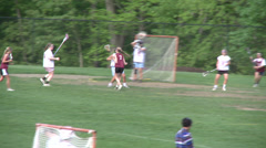 High School girls' lacrosse practice (4 of 5) Stock Footage