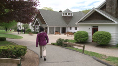 Rumsey Hall School grounds (1 of 5) Stock Footage