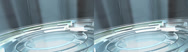 Stock Video Footage of Spinning Glass Floor - Stereoscopic 3D