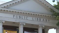Ferguson Public Library (1 of 4) - stock footage