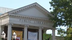 Ferguson Public Library (2 of 4) - stock footage