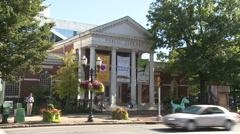 Ferguson Public Library (3 of 4) - stock footage