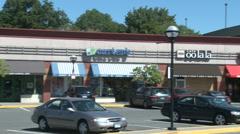 Ridgeway Shopping Center (1 of 2) Stock Footage