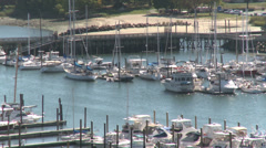 Stamford Waterfront (2 of 2) Stock Footage