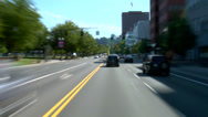 Stock Video Footage of Portland City Driving Day